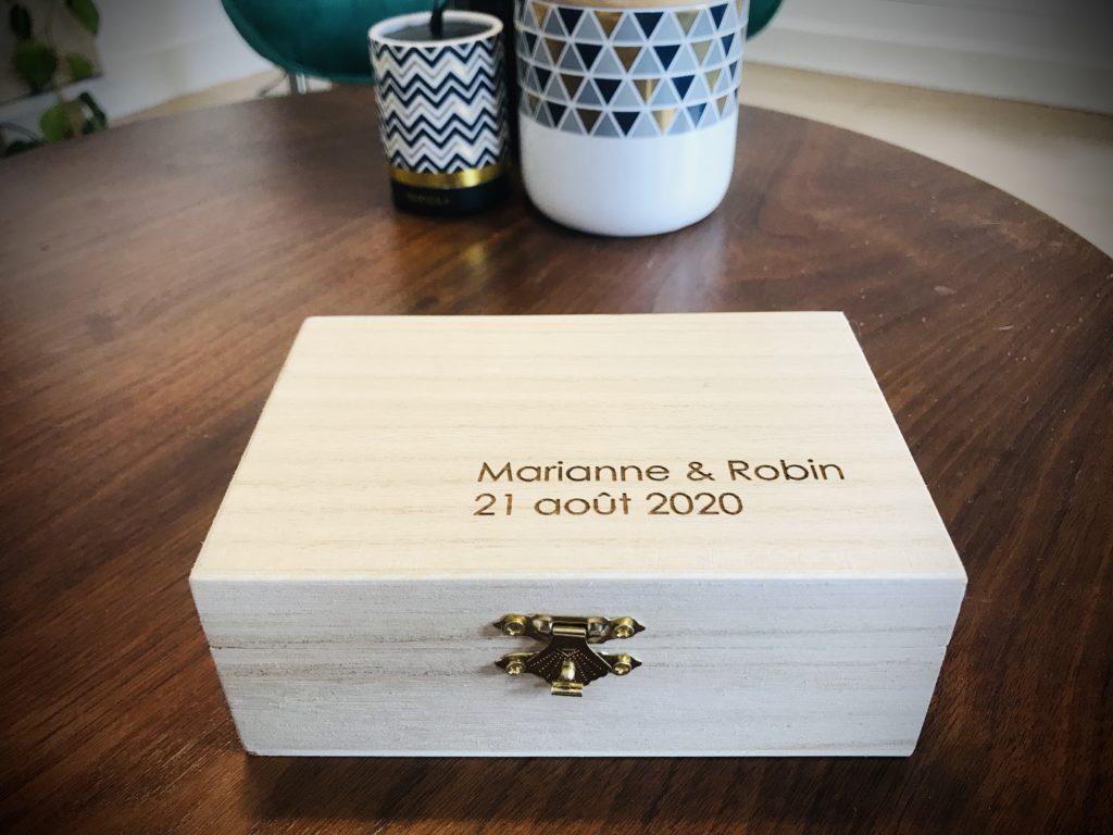 boîte mariage marianne robin - Vidéo mariage Nord